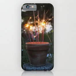 Let Your Creative Sparks Grow iPhone Case