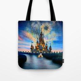 Castle by Gabriella Livia Tote Bag