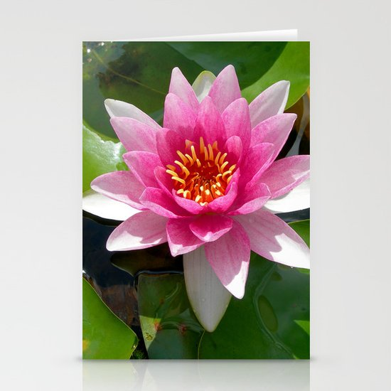 water lily VI Stationery Cards