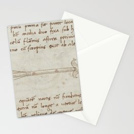 Basinio de Parma - Sagitta, the Arrow (1540s) Stationery Cards