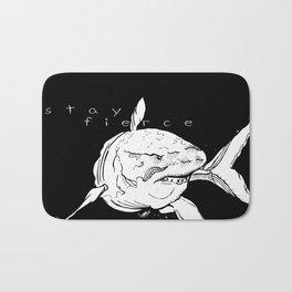 Stay Fierce Bath Mat