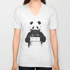 Bad panda Unisex V-Neck