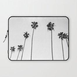 Black + White Palms Laptop Sleeve
