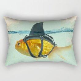 Brilliant Disguise Goldfish Rectangular Pillow