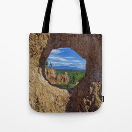 Window Tatacoa Tote Bag