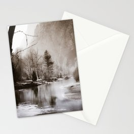 Flow, River, Flow -- The Merced River Flows Through Yosemite Stationery Cards