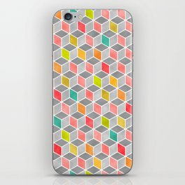 Block Party Bright iPhone Skin
