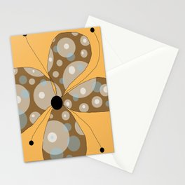 FLOWERY  LILY / ORIGINAL DANISH DESIGN bykazandholly Stationery Cards