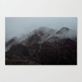 Moody Glencoe. Canvas Print