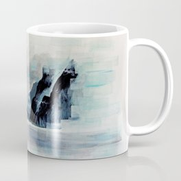 Rectangles - Perspective of Milford Sound Coffee Mug