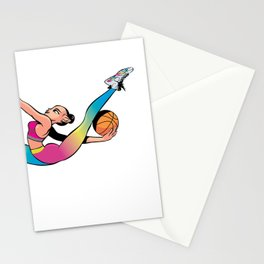 CoolNoodle in rainbow Stationery Cards
