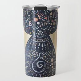 Tatted up Kitty Cat Travel Mug