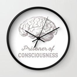 Prisoner of Consciousness II Wall Clock