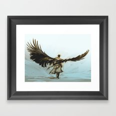 A Lonely Road Framed Art Print