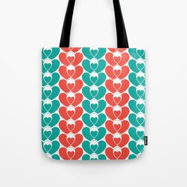 Family pattern Tote Bag