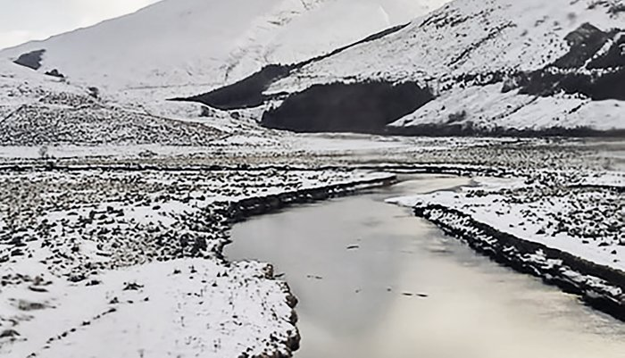 Snow Loch Pillow Sham