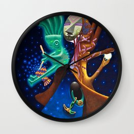 Lunar eclipse Wall Clock