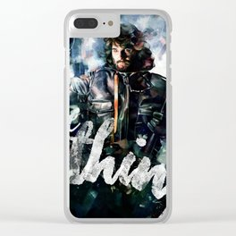 The Thing Clear iPhone Case