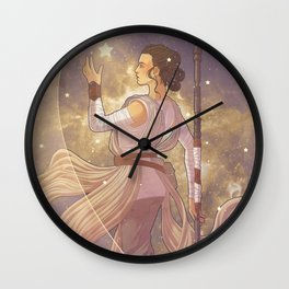 Lady of Light III Wall Clock