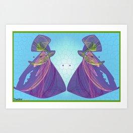 Frakblot Incarnations Art Print