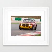 gta v Framed Art Prints featuring Alfa Romeo GTA by ClassicPressCenter