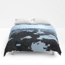 Alaska Glaciers Comforters