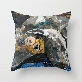 Cassie The Weimaraner Throw Pillow