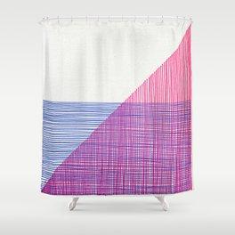 Line Art 2 Shower Curtain