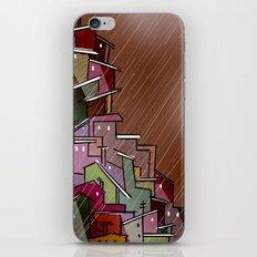 Urban Tetris#2 iPhone & iPod Skin