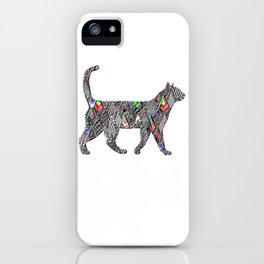 Neon Cat Cool3 iPhone Case