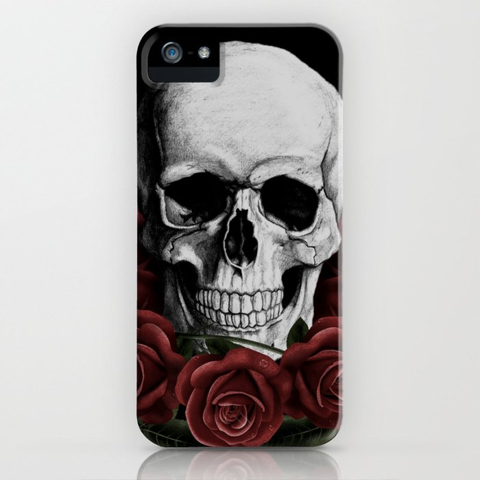 BOUQUET OF DEATH iPhone Case