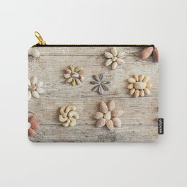 Dried fruits arranged forming flowers (4) Carry-All Pouch