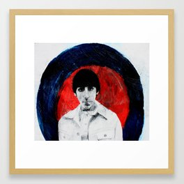 "Keith Moon ""MOD"" Framed Art Print"