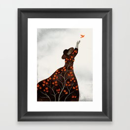 time to fly Framed Art Print