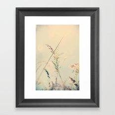 dreaming my life away ... Framed Art Print