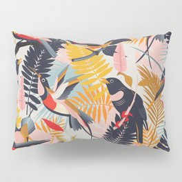 Paradise Birds II. Pillow Sham