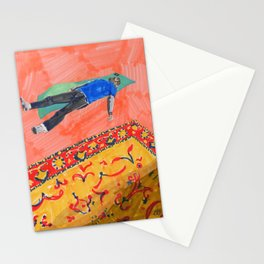 Long Day at the Office Stationery Cards
