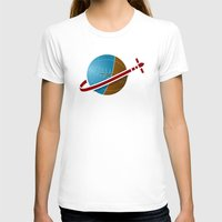 spaceship T-shirts featuring Spaceship! by JeffMcDowallDesign