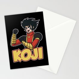Koji Kabuto - Mazinger Z Stationery Cards