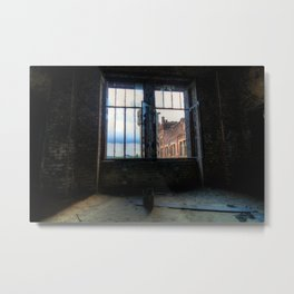 Hasard Charette : The Changing Room Metal Print