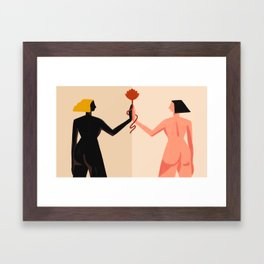 Union Framed Art Print