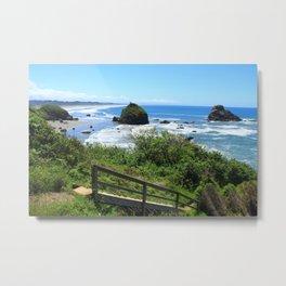 Moonstone Beach Trinidad, CA Metal Print