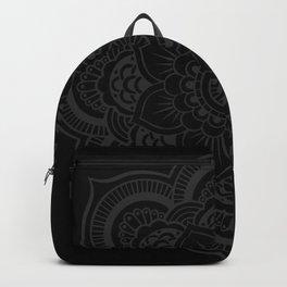 Black Mandala Backpack