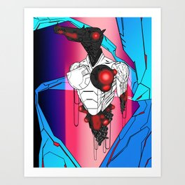 ULTRACRASH 5 Art Print
