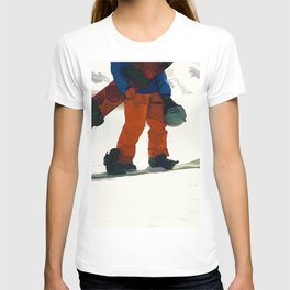 Ready to Ride! - Snowboarder T-shirt