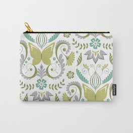 Butterfly Damask - Spring Mod Carry-All Pouch