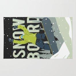 Snowboard Rug