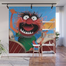 Animal Muppets' Drummer Wall Mural
