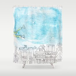 Volant Shower Curtain