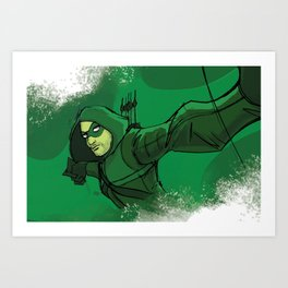The Vigilante Art Print